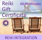 Reiki Gift Certificate 2